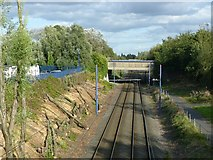 SP0189 : West Midland Metro at Roebuck Lane by Alan Murray-Rust