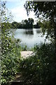SE7122 : Oakhill Pond, Oakhill nature reserve by Christine Johnstone