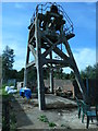 SE3900 : Winding shaft headgear, Hemingfield colliery, from the south-east by Christine Johnstone