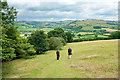 SO2664 : Offa's Dyke Path near Discoed by Jeff Buck