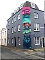 TQ3104 : Street Art in the North Lanes by Oliver Dixon