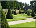 SK5453 : Newstead Abbey Gardens – Rose Garden by Alan Murray-Rust