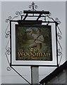 SU2991 : Sign for the Woodman Inn, Fernham by JThomas