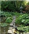 SK5453 : Newstead Abbey Gardens – Japanese Garden by Alan Murray-Rust