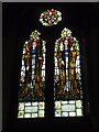 SE3132 : St Hilda, Cross Green - archangels window by Stephen Craven