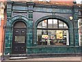 SO8318 : Tiled frontage, corner of Station Road and Clarence Street, Gloucester by Robin Stott