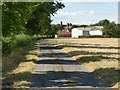 SK7766 : Approaching Crow Park Farm by Graham Hogg