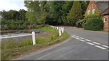 TG2902 : Junction of Framlingham Earl Road and Church Road, Yelverton by Helen Steed