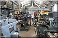 SN5881 : Vale of Rheidol Railway - workshop by Chris Allen
