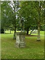 SK5453 : Newstead Abbey Gardens – statue of a male satyr by Alan Murray-Rust