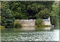 SK5353 : Newstead Abbey Gardens – Cannon Fort by Alan Murray-Rust