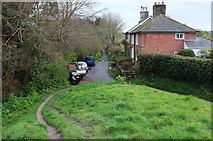 SY9287 : East Walls, Wareham by Derek Harper