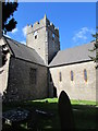 ST0168 : Southeast side of St Tathan Church, St Athan by Jaggery