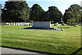 TA2707 : Plot containing the graves of Second World War  casualties by Adrian S Pye