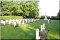 TF0658 : Scopwick cemetery and Commonwealth War Graves by Adrian S Pye