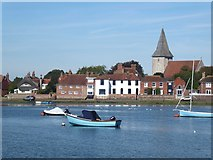 SU8003 : Bosham Harbour and village by Oliver Dixon