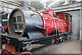 SN5881 : The Vale of Rheidol Railway - part of a Garratt locomotive by Chris Allen