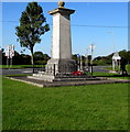 ST0167 : Grade II Listed St Athan War Memorial by Jaggery