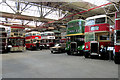 SD8400 : A Selection of Buses at Greater Manchester Transport Museum by David Dixon