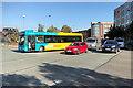 SD8010 : Rosso Bus turning into Haymarket Street by David Dixon