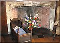 TG2208 : Strangers' Hall Museum - the Great Parlour (fireplace) by Evelyn Simak