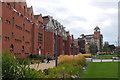 SK5803 : Queen's Building, De Montfort University Leicester by Jim Barton