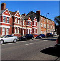 ST1067 : Change of house type, Broad Street, Barry by Jaggery