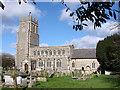 TL8866 : Great Barton Holy Innocents church by Adrian S Pye