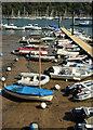 SX8751 : Boats, Dartmouth by Derek Harper