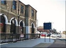 TG5307 : Euston Road past the rear of the former Hollywood Cinema by Evelyn Simak