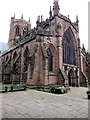 SJ6552 : Grade I Listed Church of St Mary, Nantwich by Jaggery