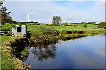 H5070 : Hut shelter along the Camowen River, Donaghanie by Kenneth  Allen