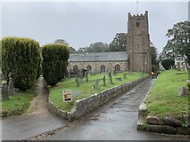 SX7087 : St Michael the Archangel's Church, Chagford by Andrew Abbott