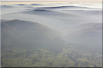 SD6382 : Barbon and Yorkshire Dales from the air by Ian Taylor