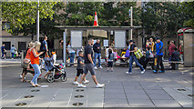 J3474 : Queen's Square, Belfast by Rossographer
