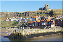 NZ8911 : Tate Hill Pier, Whitby by Stephen McKay