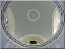 NZ2564 : The roof in the portico of All Saints Church, Pilgrim Street by Mike Quinn