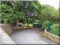 SJ9995 : Entrance to Mottram Cemetery by Gerald England