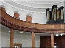 NZ2564 : All Saints Church, Pilgrim Street - the gallery and organ by Mike Quinn