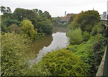 SJ8298 : Salford, River Irwell by Mike Faherty