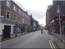 NM8530 : George Street - viewed from St John's Cathedral by Betty Longbottom