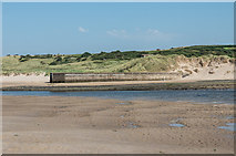 NU1535 : Old quay, Budle Bay by Ian Capper