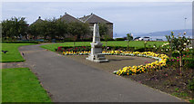 NS3274 : Elizabeth Wood Inglis fountain by Thomas Nugent