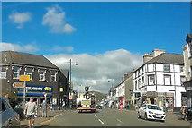 SH5638 : High Street Porthmadog by John Firth