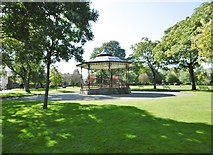 SD8912 : Rochdale, bandstand by Mike Faherty