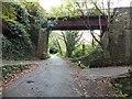 SC3190 : Former bridge on Manx Northern Railway by Richard Hoare