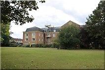 TQ3581 : Flats by Stepney Green Park by David Howard