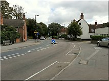 TM1822 : The junction of the B1033 with the B1414 in Thorpe-le-Soken by Roger A Smith