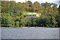 NS3786 : House on Inchmurrin by David Dixon