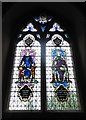 TL8530 : St Andrew, Colne Engaine: stained glass window (f) by Basher Eyre